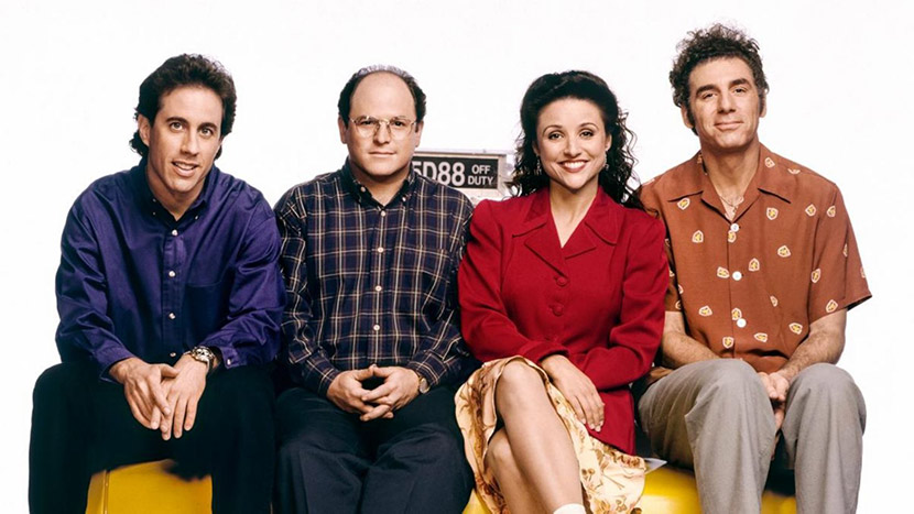 Hype over the announcement of the arrival of Seinfeld to Netflix