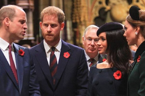 Prince Harry and Meghan Markle Zoom with William and Kate Middleton